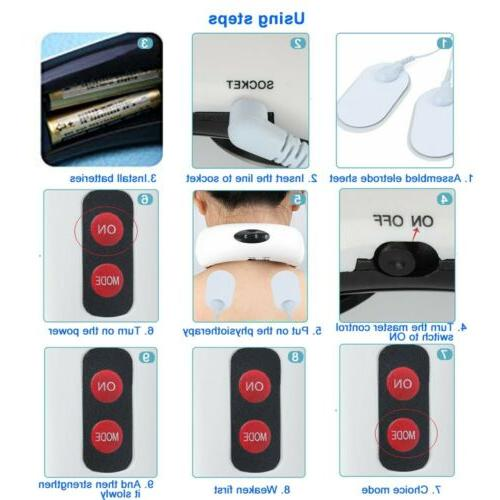 Electric Neck Massager Magnetic Therapy