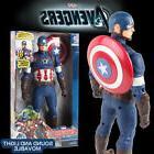 Hasbro Electronic Captain America Talking Speech Sound Actio