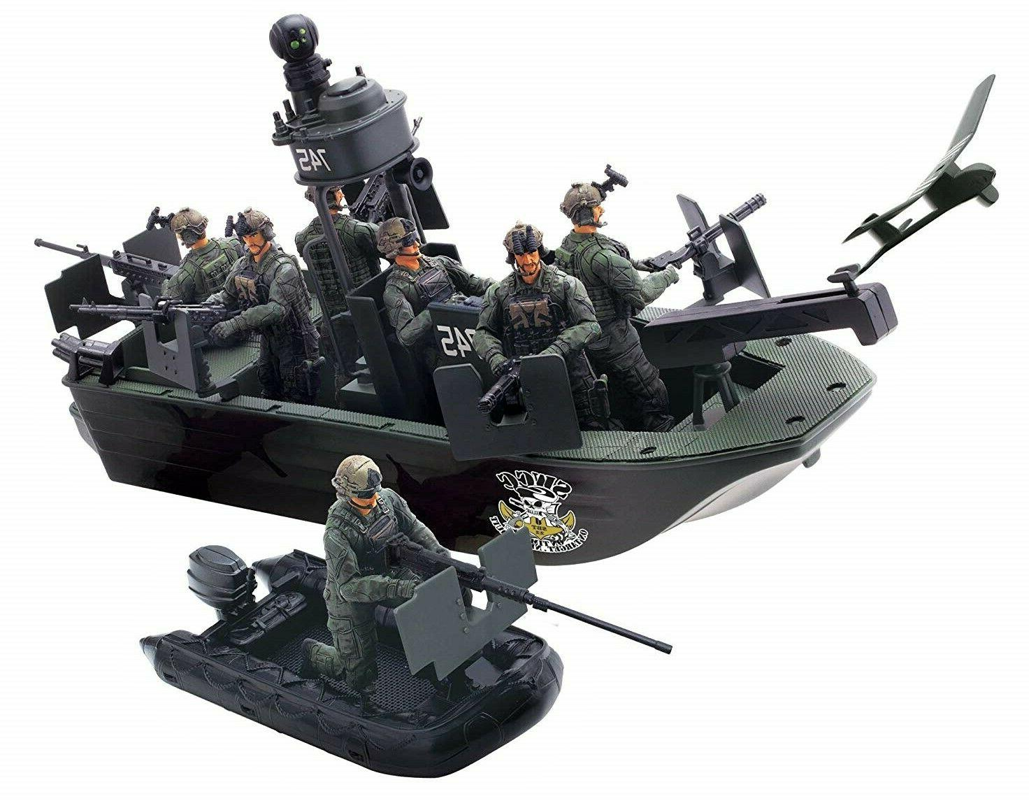 Elite Force Air to Land Mission Naval Special Warfare Gunboa