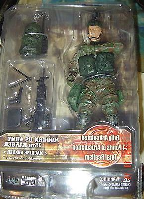 Elite FORCE Military ACTION Figure US Army 75 Ranger Machine