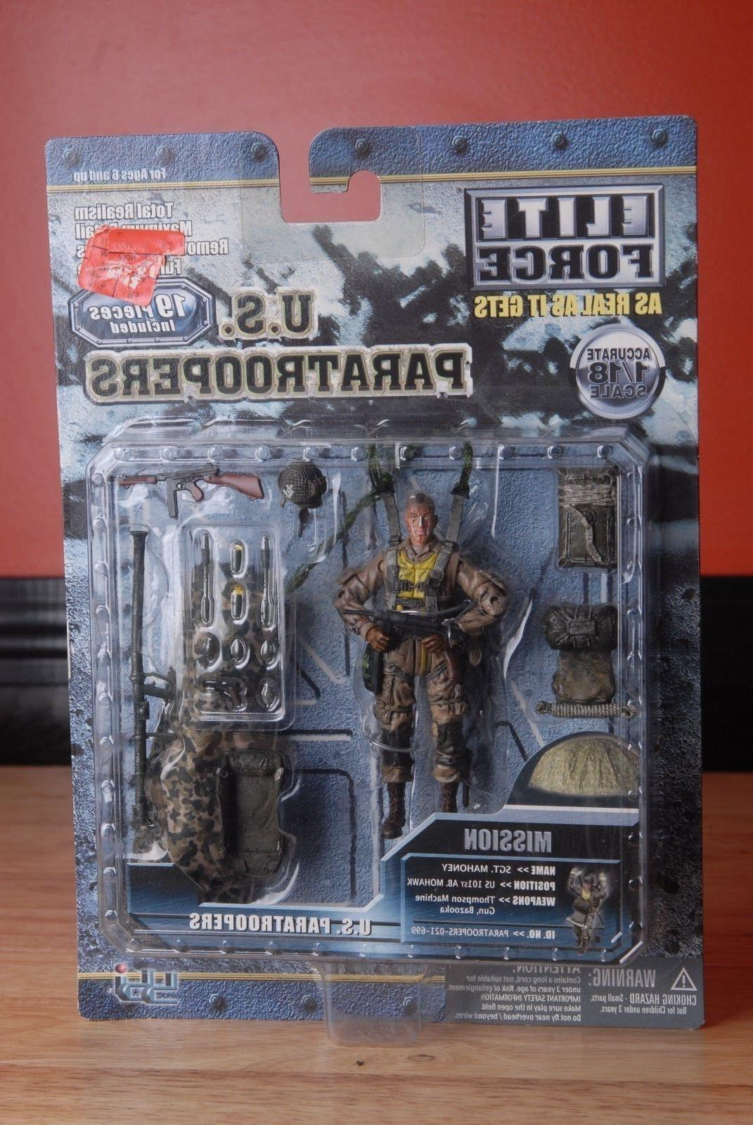 Elite Force Military Collectable Action Figure U.S. Paratroo