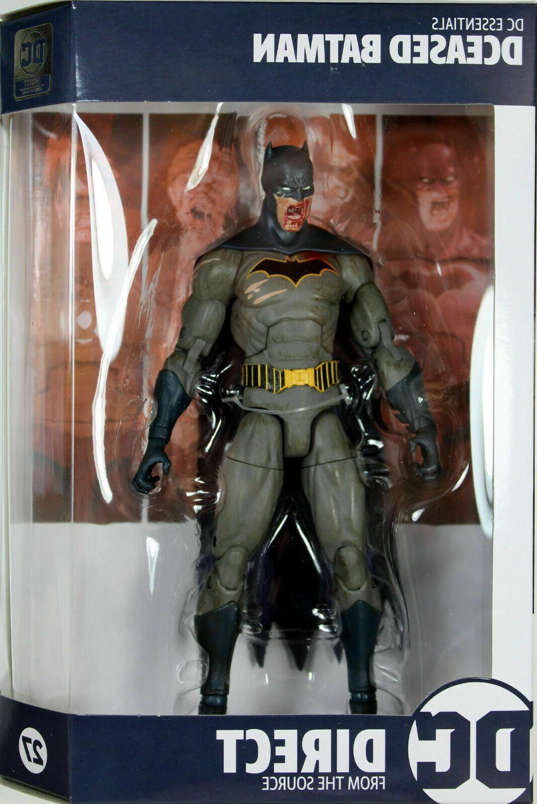essentials eased batman 7 figure in hand