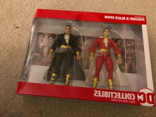 essentials shazam and black adam 2 pack