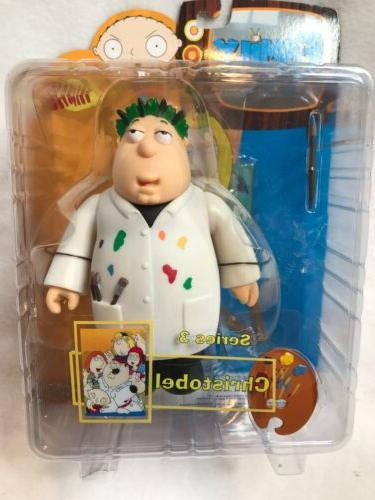 family guy christobel action figure mib series