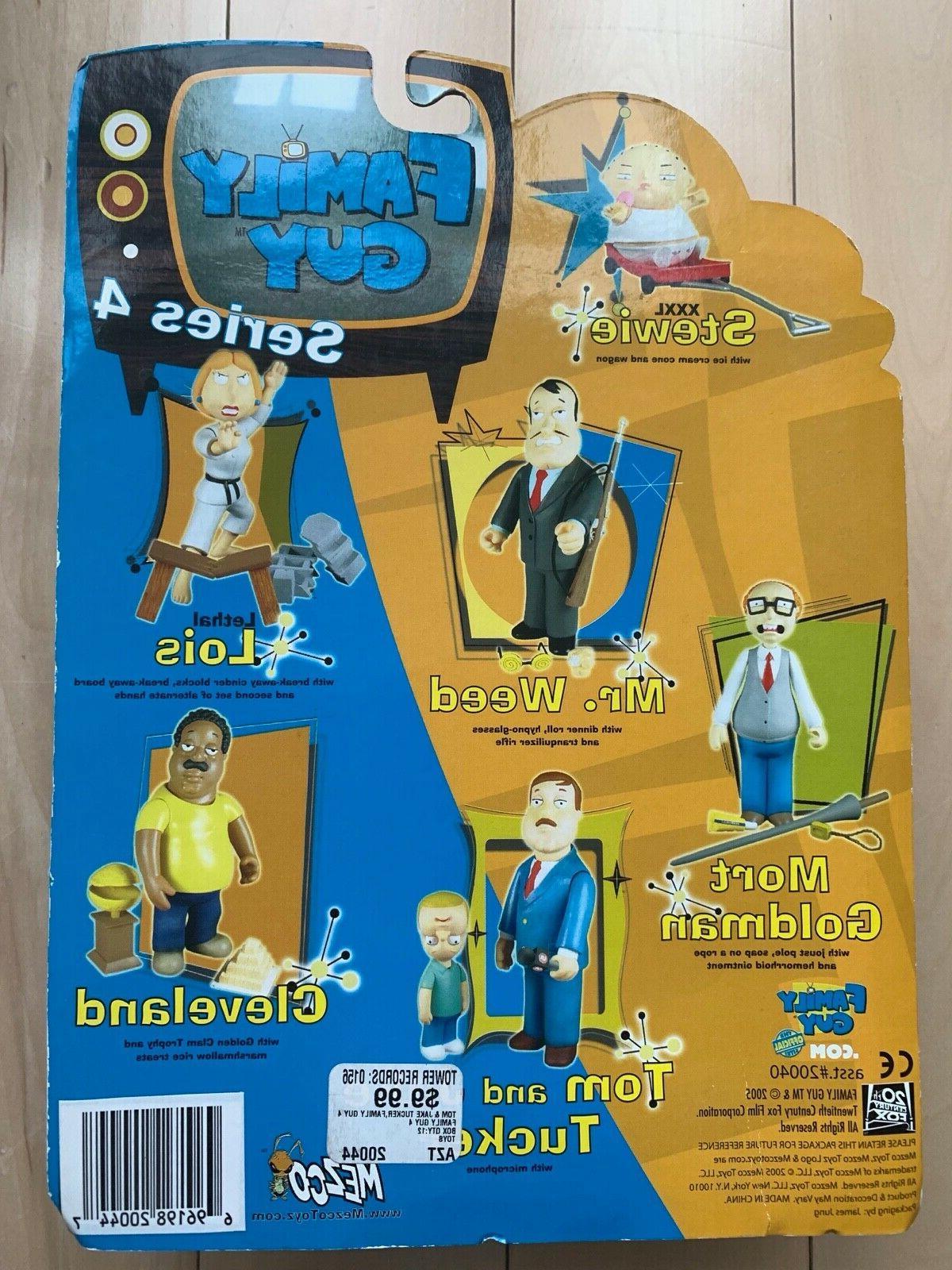 Mezco Toyz Family Guy Series 4 Tom and Jake Tucker