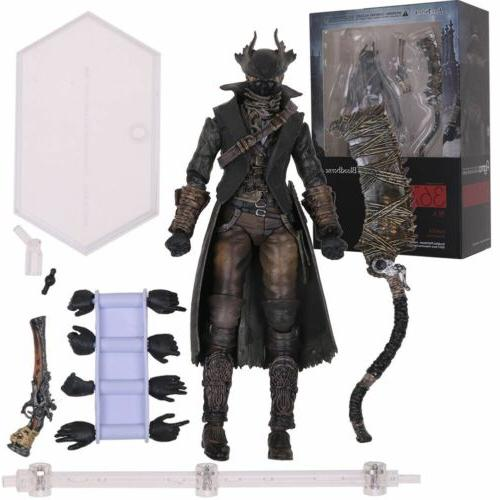 "Figma 367 Bloodborne Hunter Action Figure Model 6"" Toy Gift"