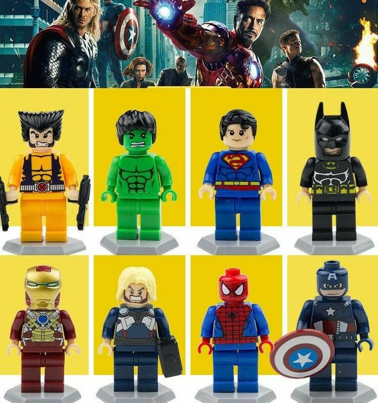 figure 8pcs marvel super heroes avengers 3