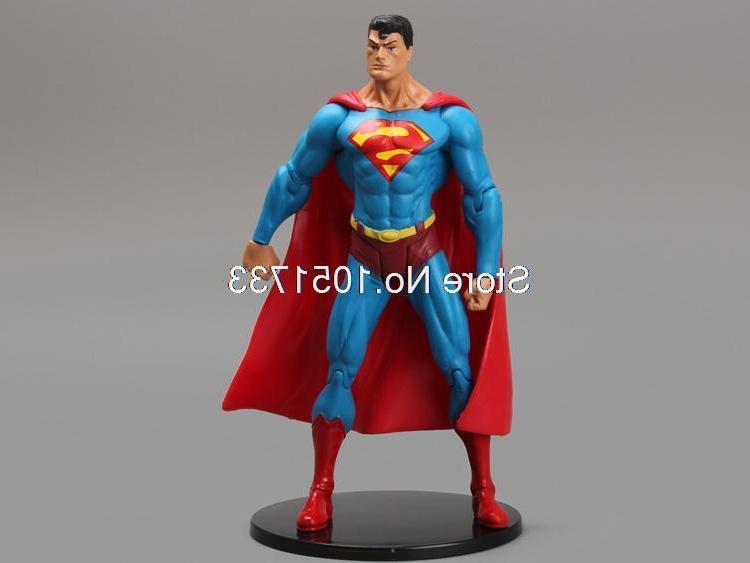 """<font><b>DC</b></font> Comics Superhero PVC <font><b>Action</b></font> <font><b>Figure</b></font> Model Toy 7"""" Free Shipping HRFG209"""