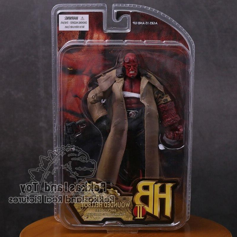 <font><b>MEZCO</b></font> <font><b>Hellboy</b></font> <font><b>Figure</b></font> Collectible Model Toy