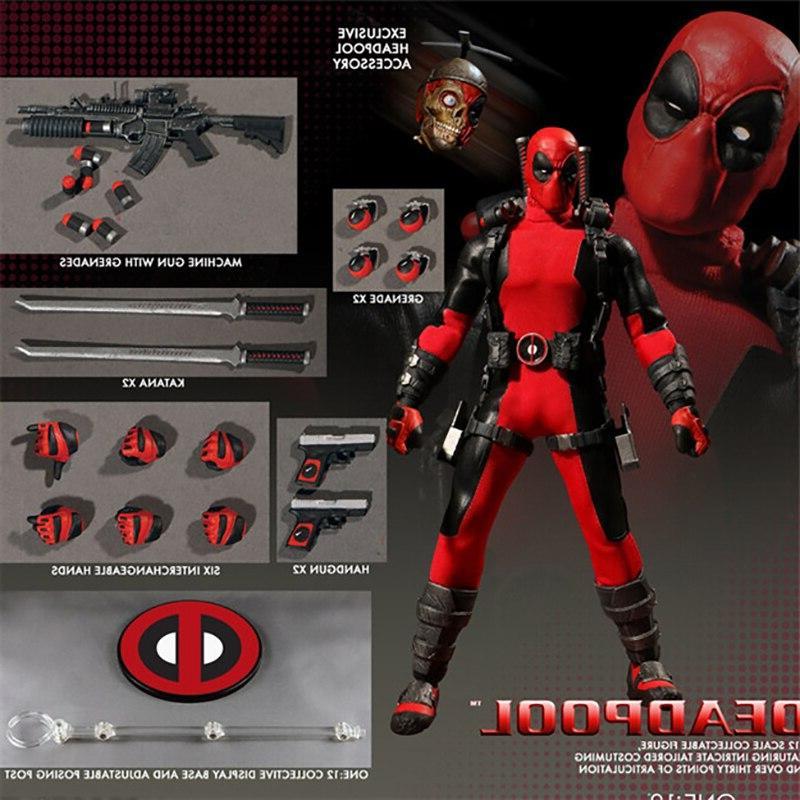 <font><b>Mezco</b></font> Hero Deadpool X-Men <font><b>Batman</b></font> Arrow Superman <font><b>Figure</b></font> Toy