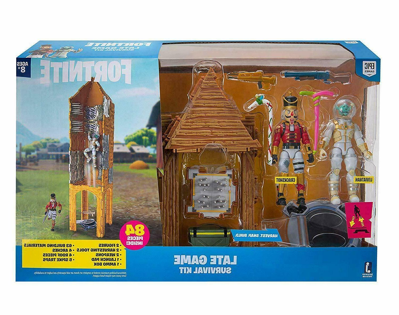 fortnite late game survival kit figure set