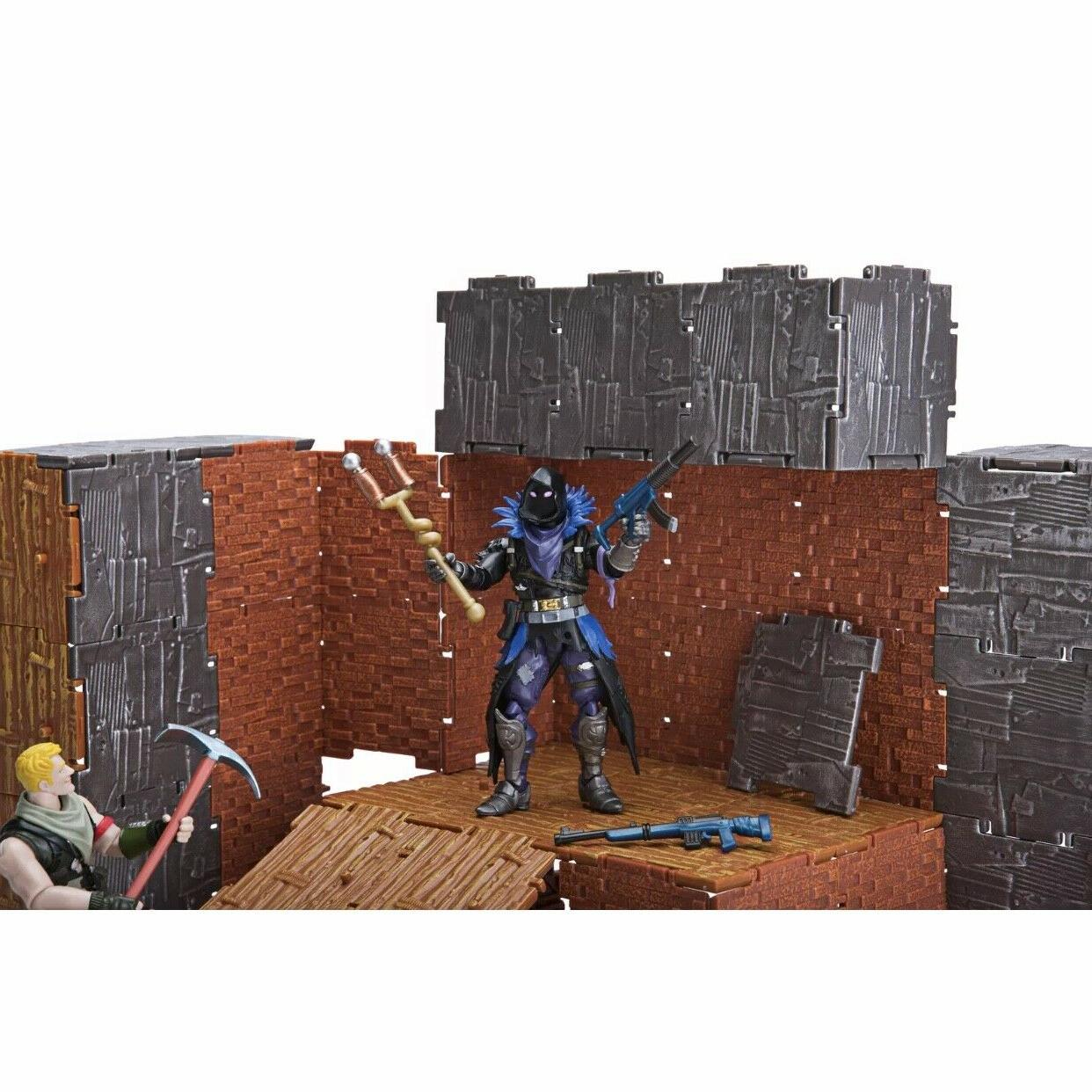 Fortnite Turbo 2 Action Figure Jonesy & Raven w Accessories