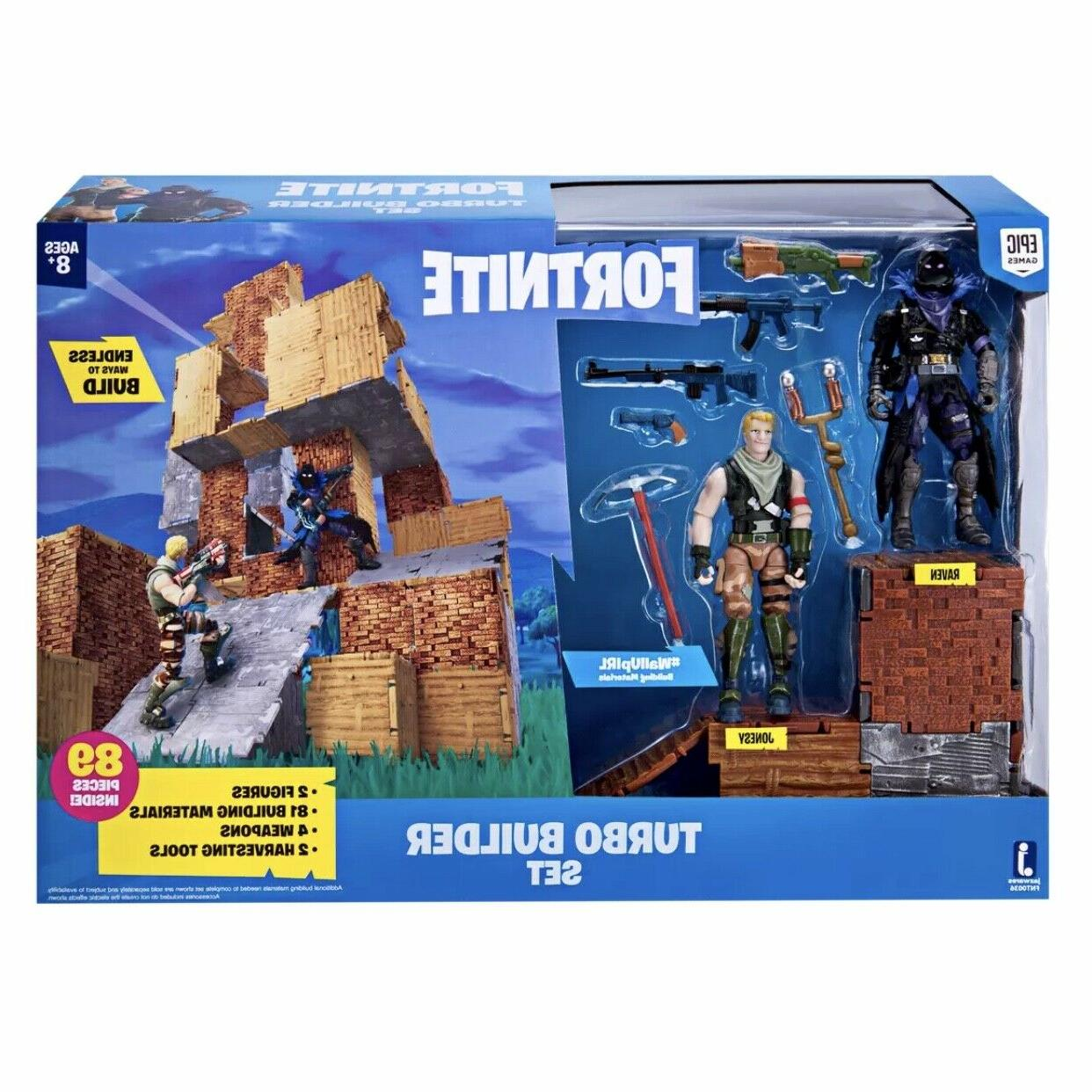fortnite turbo builder set 2 action figure