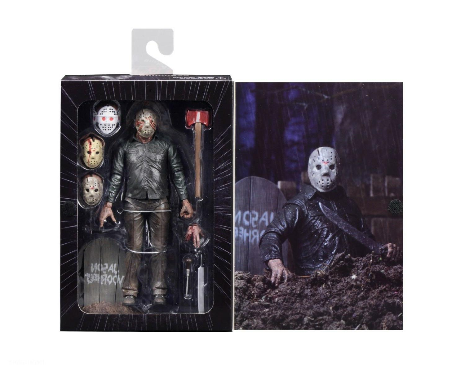 "7"" Scale - Ultimate 5 Jason Voorhees"