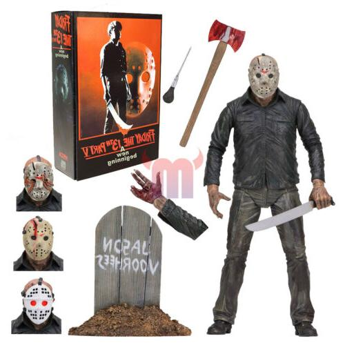 friday the 13th 7 scale action figure