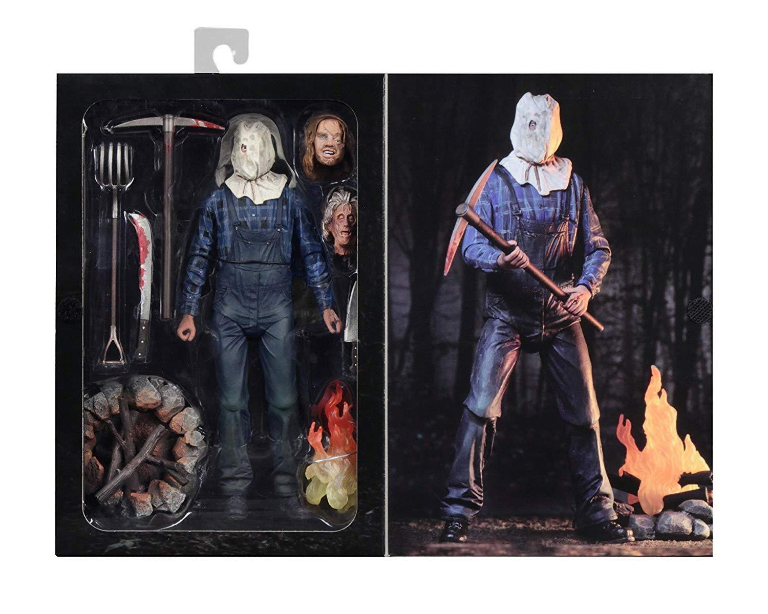 """NECA Friday Part 2 Ultimate Voorhees 7""""action figure USA Seller"""