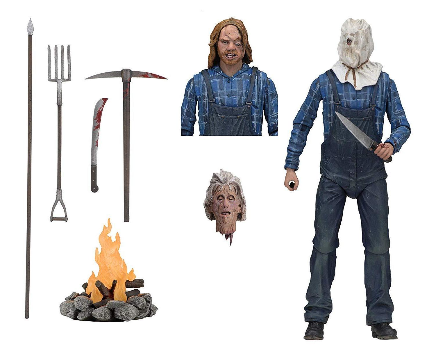 """NECA Friday the 13th Part 2 Ultimate Jason Voorhees 7""""action figure Seller"""