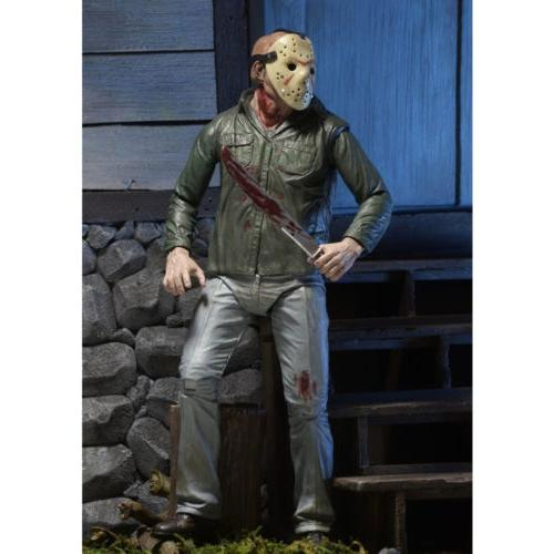 "Friday IV 3D JASON VOORHEES 7"" Ultimate Action Figure USA"