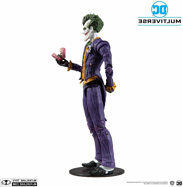 McFarlane DC Multiverse Joker Figure Case Fresh