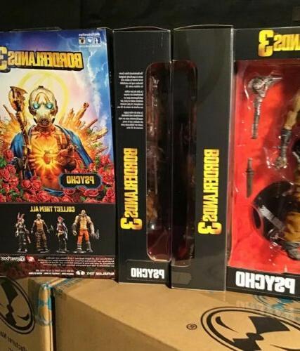 "McFarlane Toys BORDERLANDS 7"" Action figure MIP!"