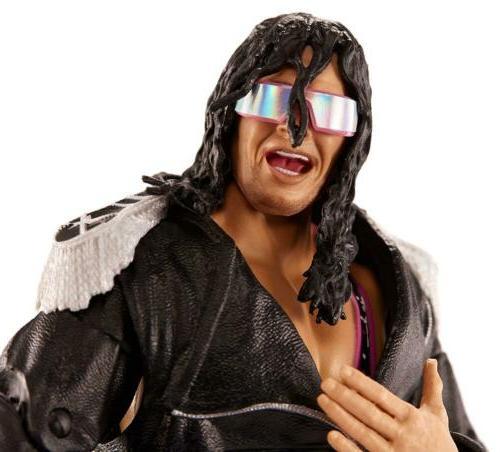 WWE Bret Hitman Action Ultimate Mattel