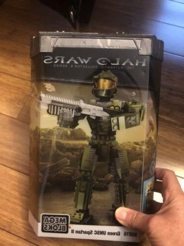 green unsc spartan ii halo wars action