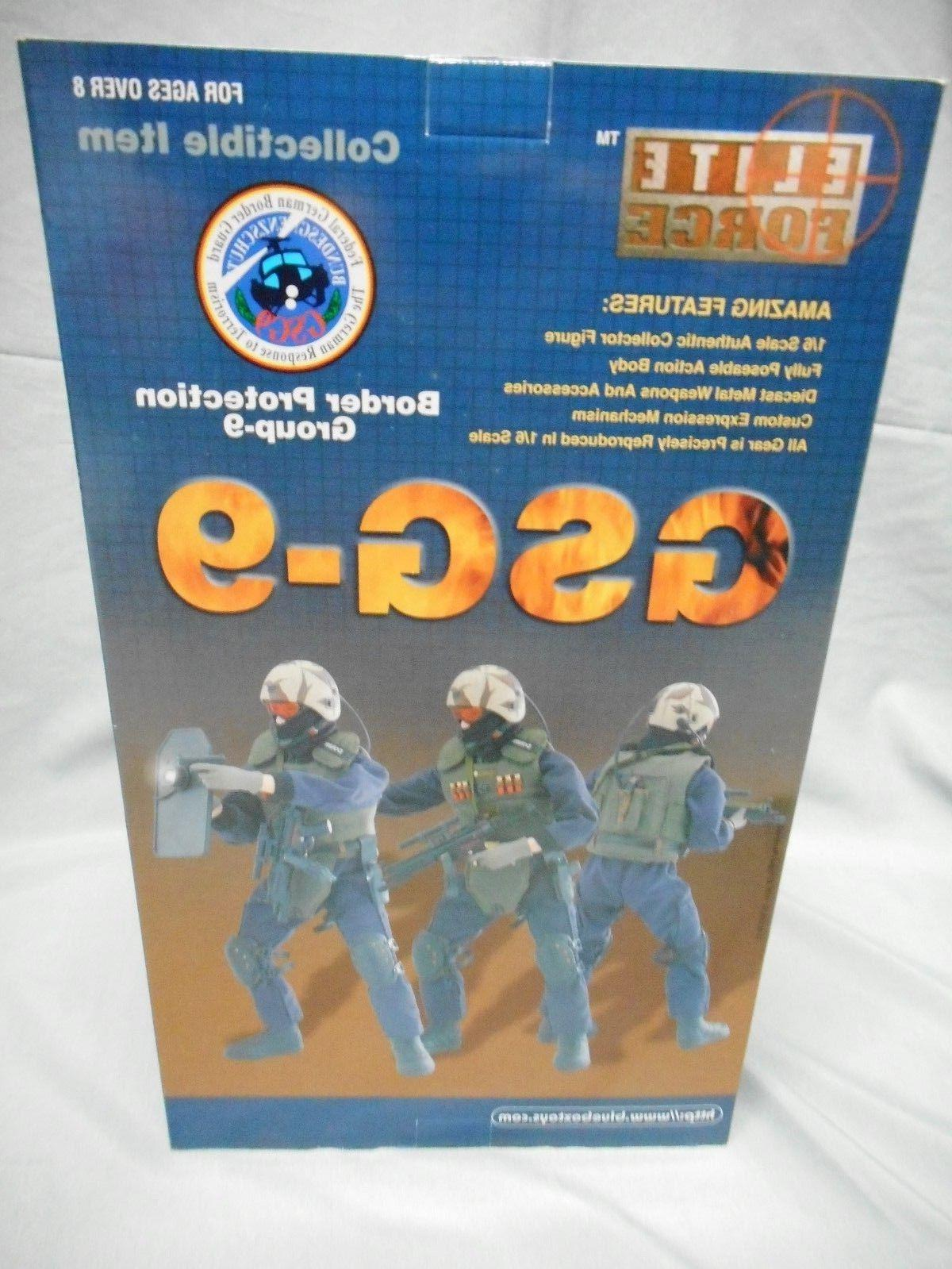 "ELITE FORCE GSG-9 GERMAN BORDER PROTECTION GROUP 9 KONRAD 12/"" ACTION FIGURE"