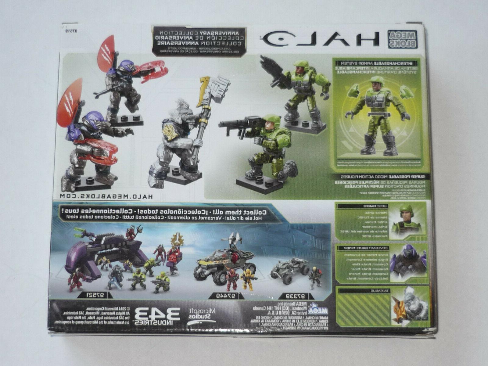 Mega Bloks Halo Battleground Collection NEW