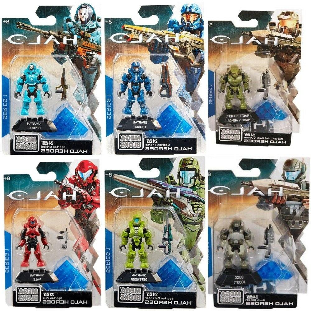 halo heroes series 1 action figures collection
