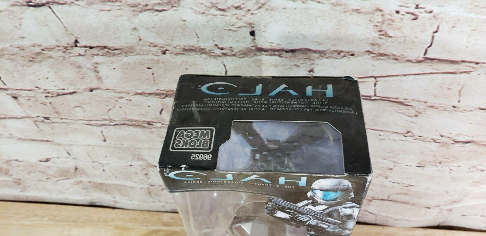 Mega Bloks Halo Arctic Sniper Specialist Figure Blocks box