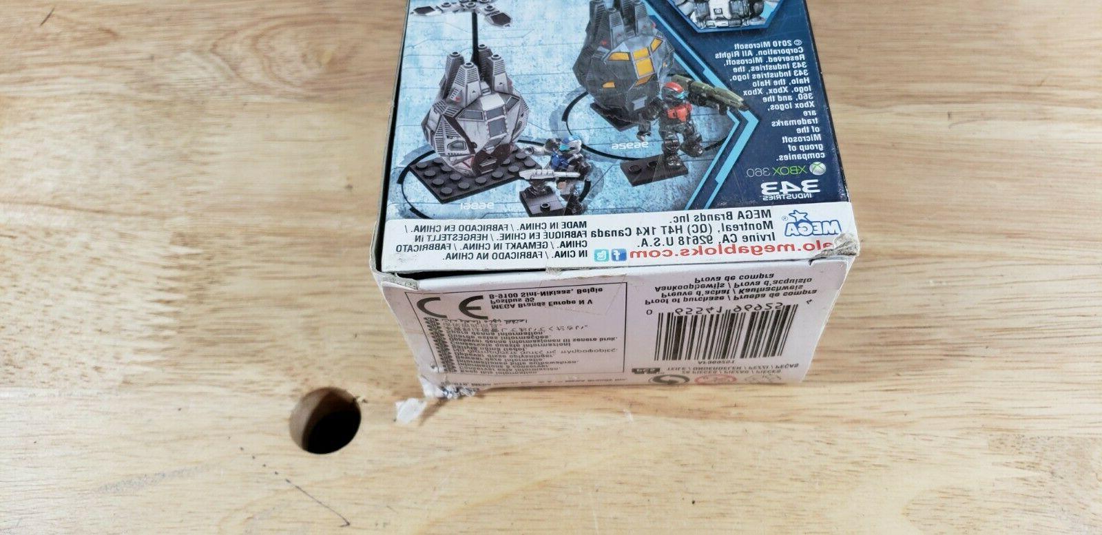 Mega Bloks Arctic Sniper Figure 96925 dmg box