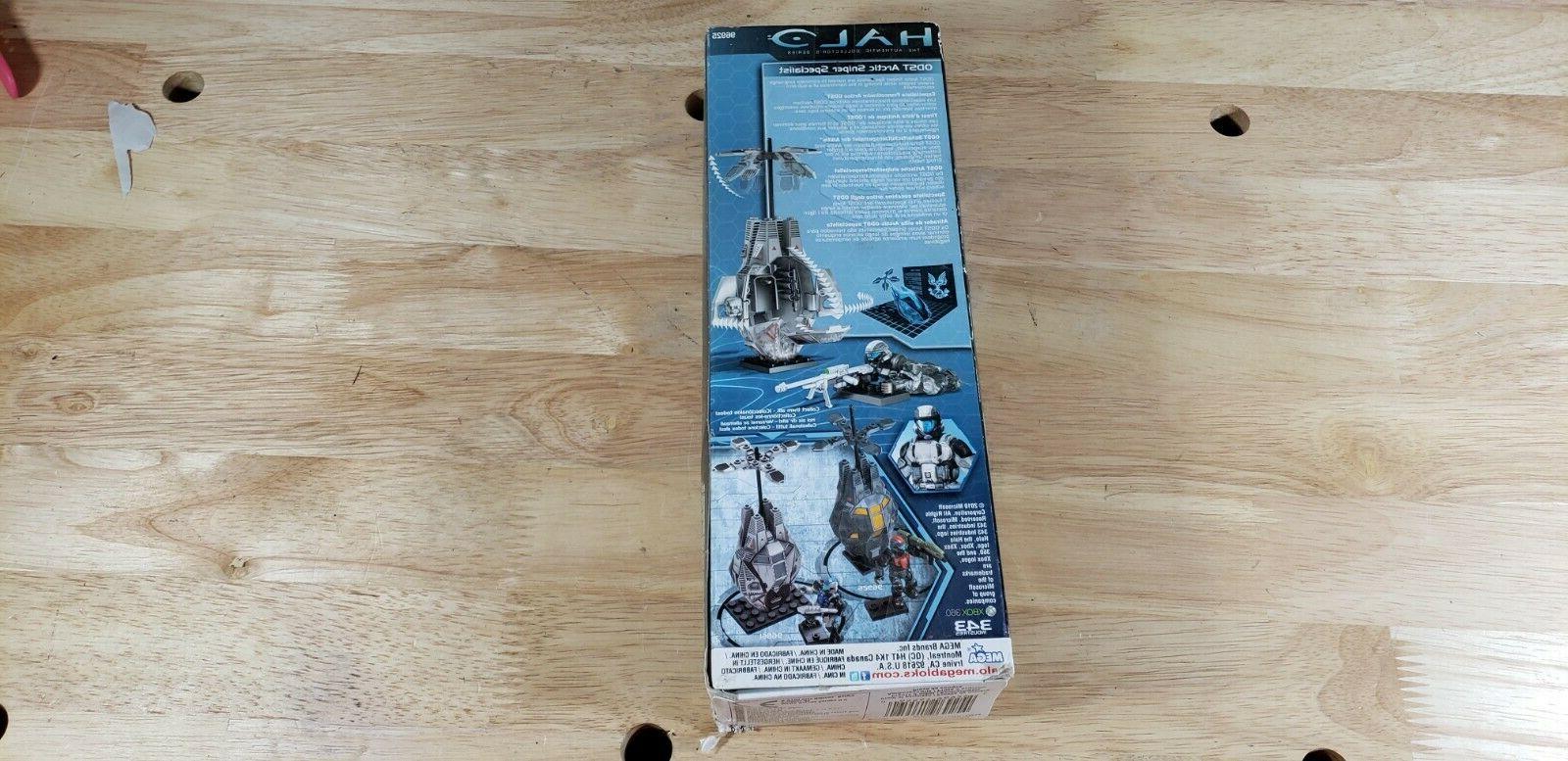 Mega Bloks Arctic Action Figure 96925 box