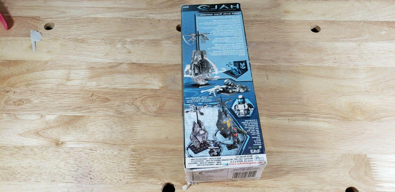 Mega Halo ODST Arctic Sniper Specialist Figure box
