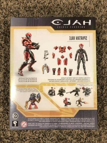 HALO Universe Series SPARTAN VALE Red action figure 2 - FDN99
