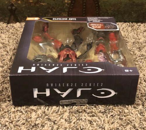 HALO Universe SPARTAN VALE - Red action figure 2 -