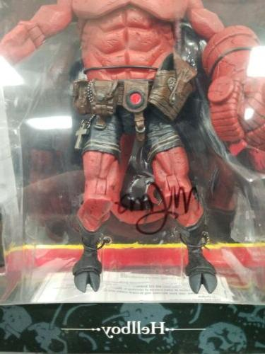 """Hellboy Closed Mouth Figure 8"""" Signed By"""