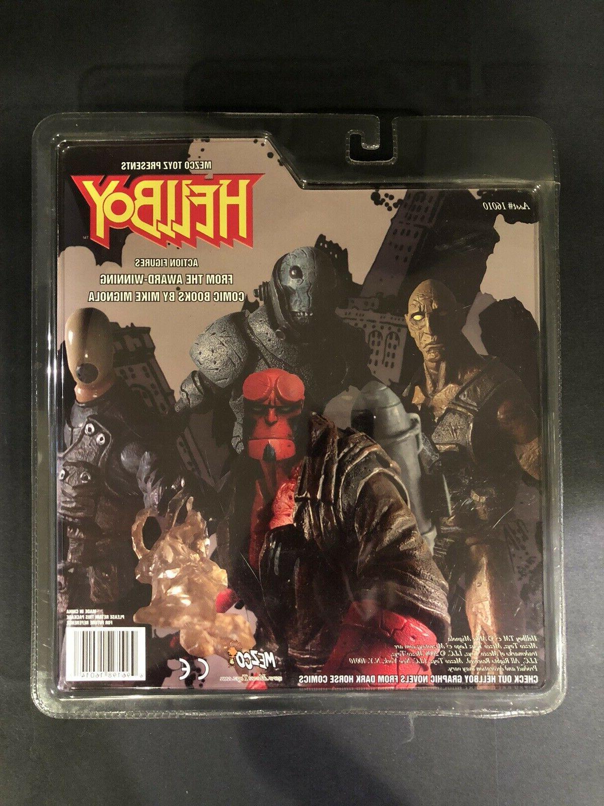 Mezco Hellboy Comic 2 Figure Unopened