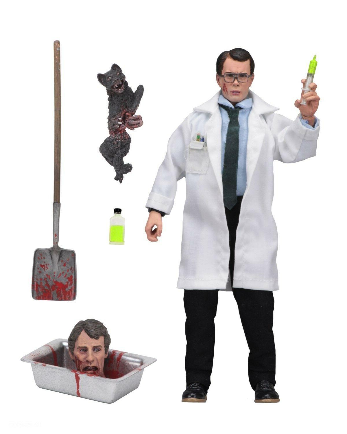 """HERBERT WEST Re-Animator Movie 8"""" inch Clothed Action Figure"""