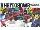Bandai Hobby Cowboy Bebop Sword Fish / Swordfish II Model Ki