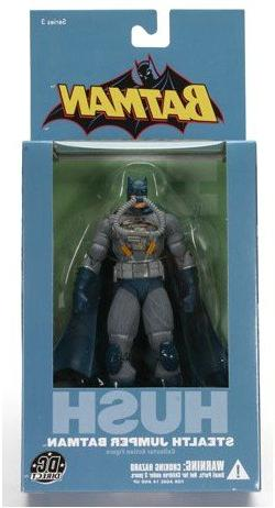 Batman Hush Series 3: Stealth Jumper Batman Action Figure