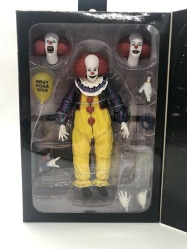 "IN STOCK NECA IT  PENNYWISE  7"" Scale Ultimate Action Figure"