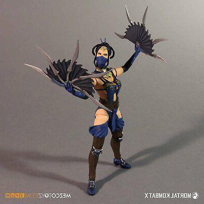 "In Mezco Mortal Kombat X ""Kitana"" Action"