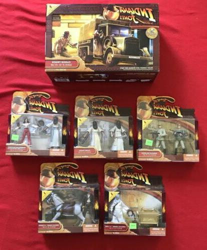 Indiana Jones Raiders Of The Lost Ark Lot Action Figures & C