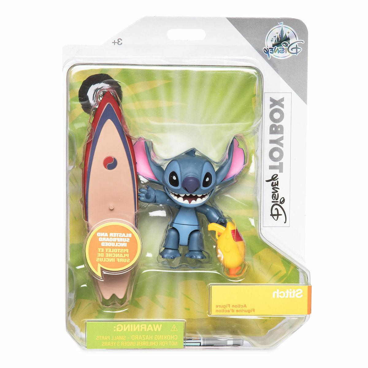 rare store stitch toybox action figure set