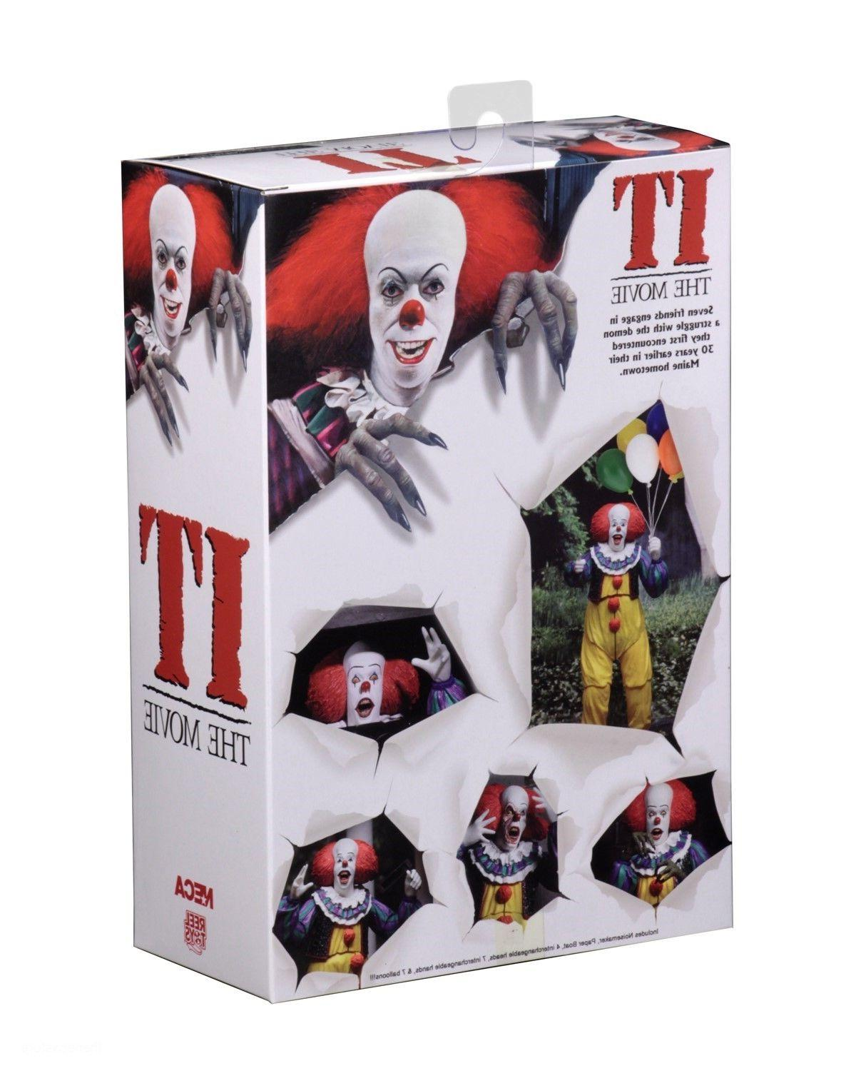 "IT 7"" Action Pennywise NECA"
