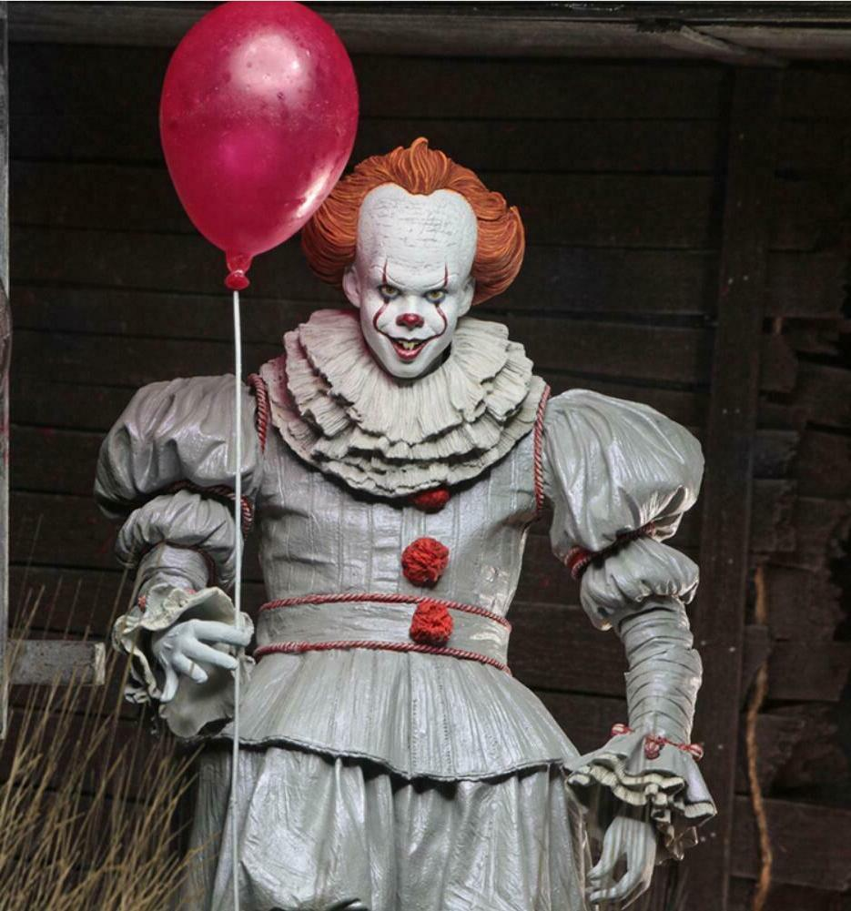 "NECA Bloody Version Pennywise Movie 7"" Scale Toy"