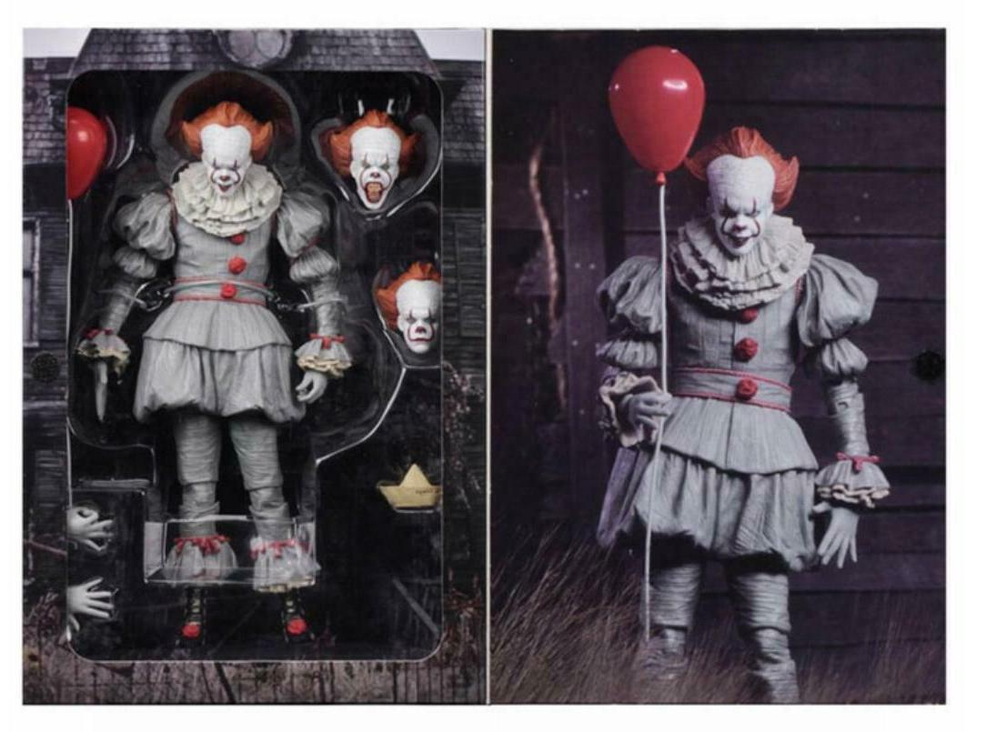 NECA Pennywise Action Movie Scale