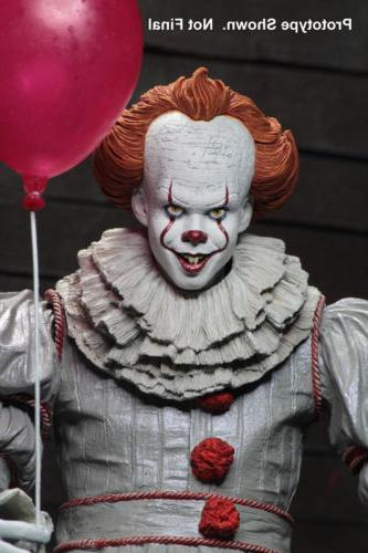 """IT Pennywise 7"""" Figure Movie Doll 2018 New Seale"""