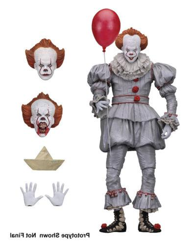 it ultimate pennywise clown 7 action figure