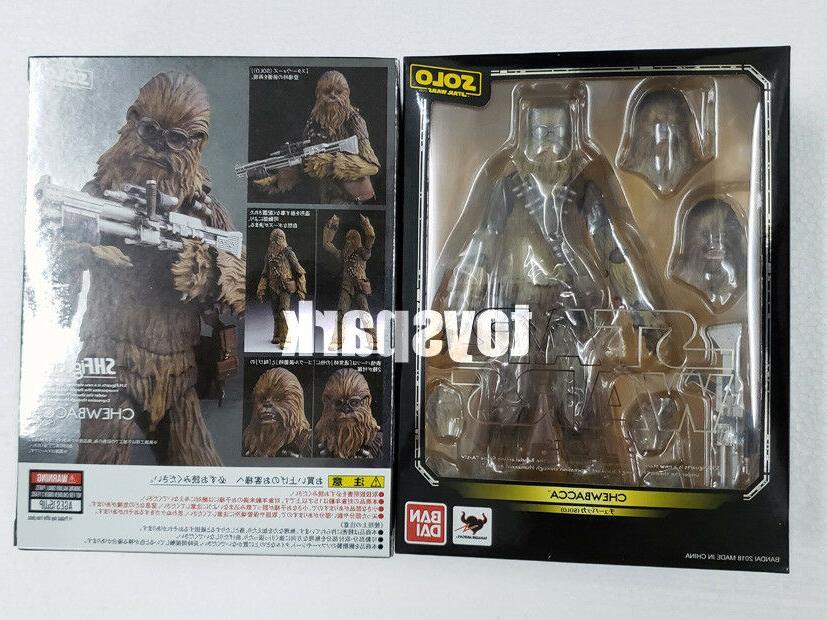 JAPAN Ver BANDAI S.h. figuarts Solo a Star Wars Story CHEWBA
